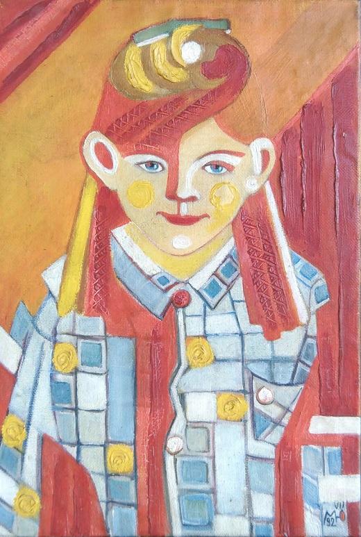 записки о художниках АРТ-РЕЛИЗ.РФ, Маргарита Юркова Детские портреты