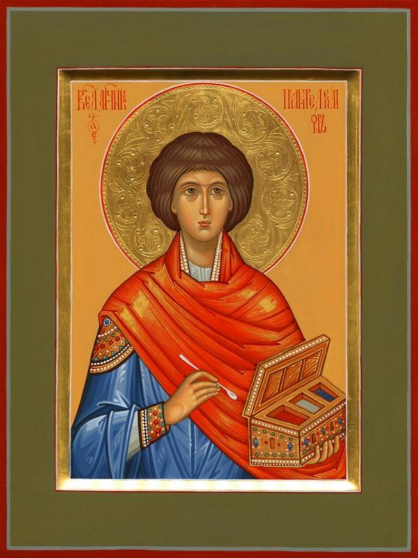 Святой Пантелеимон  Мастерская Екатерины Ильинской