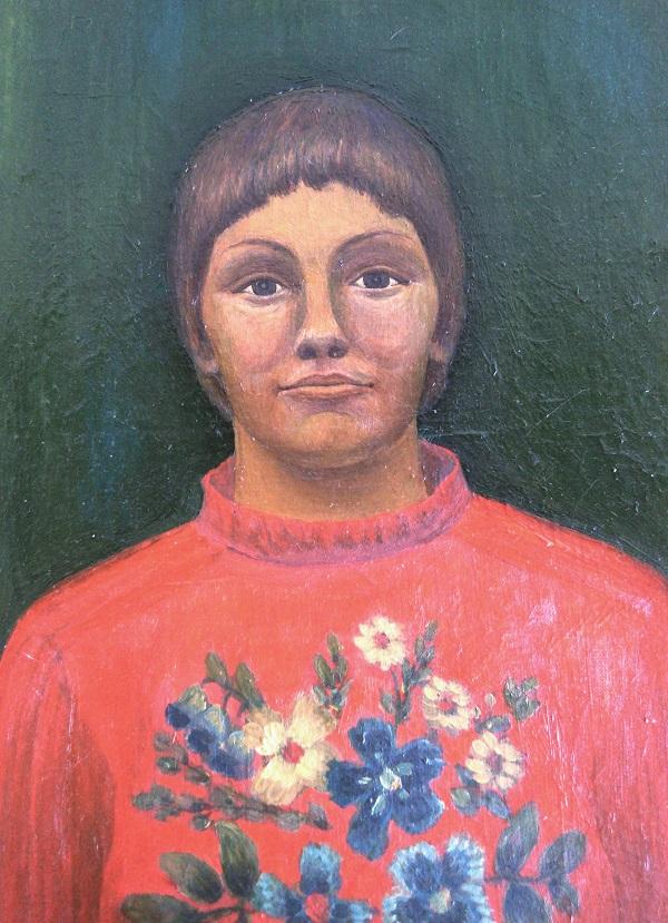 Маргарита Юркова Автопортрет