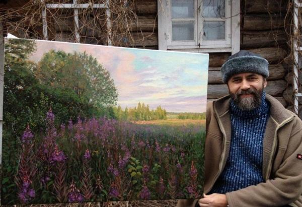 Георгий Парфенов Замечательный художник  и удивительный человек, своими руками  восстановивший три храма во Владимирской области