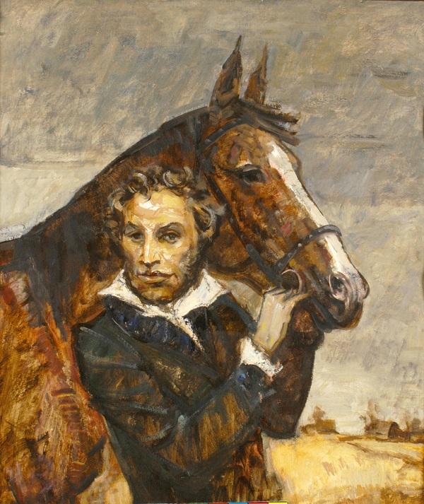 Художник Г.К. Севастьянов Болдинская осень, 2001 г.