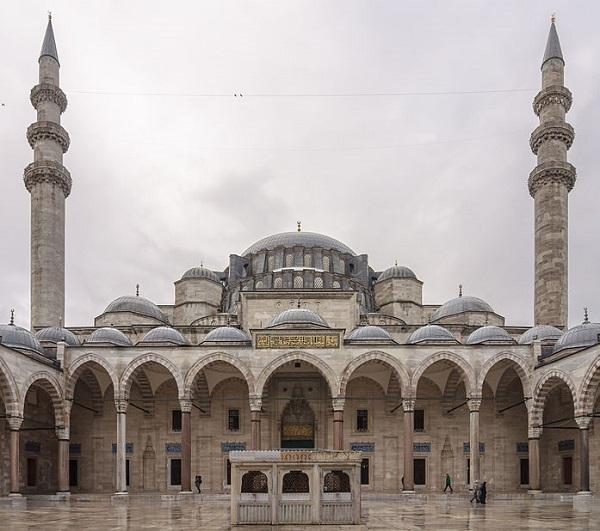 Стамбул Мечеть Сулеймание Архитектор Мимар Синан