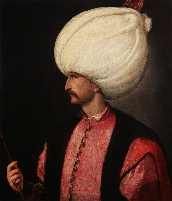 Сулейман I Великолепный (Кануни) десятый султан Османской империи, правивший с 22 сентября 1520 года, халиф с 1538 года.