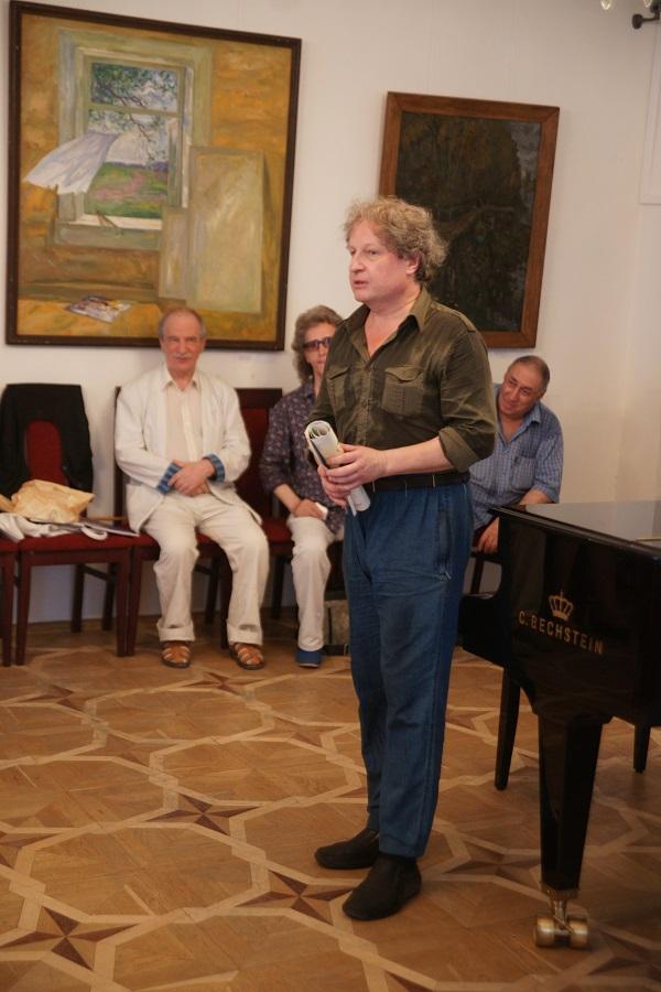 Вилли Мельников принял участие в торжественной части мероприятия