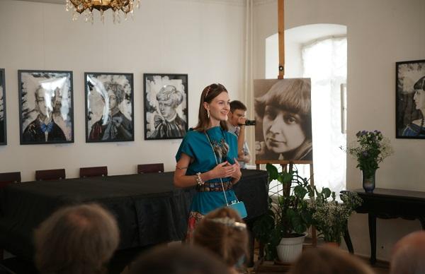 София Загряжская Выставка Портрет Российской словесности в Музее Марины Цветаевой