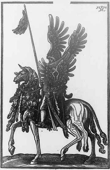 Турецкий всадник — дели. Гравюра датского художника-графика Мельхиора Лорка (1576 г.)  Turkish-Deli