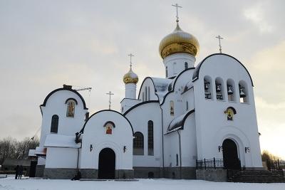 Приходской Храм Одигитриевского женского монастыря в Смоленской области, Вяземский район, деревня Всеволодкино