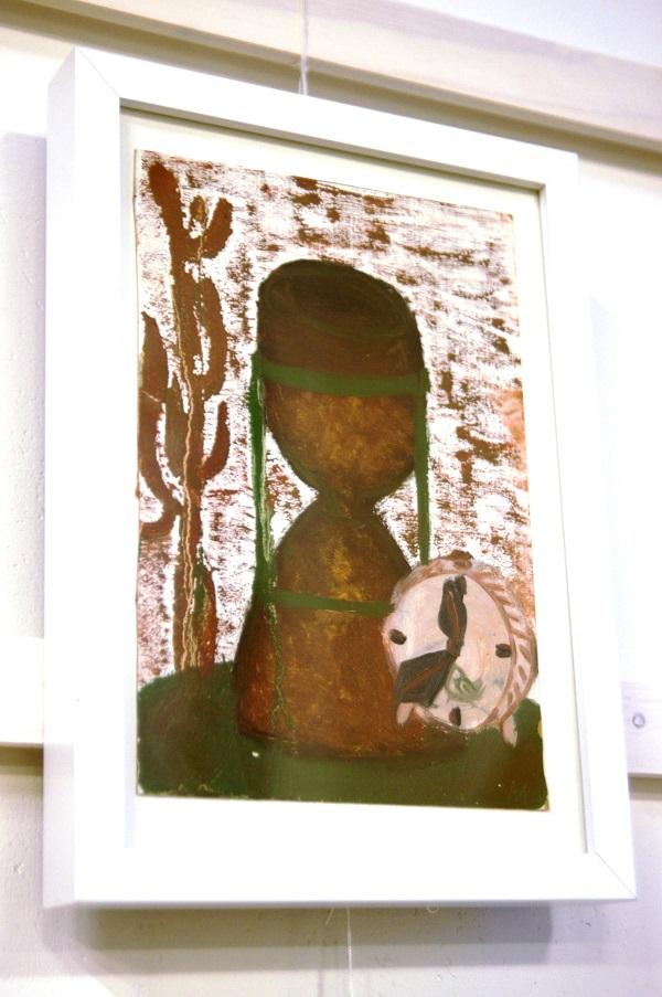 """Эта картина """"Часы"""" Анны Медалье пополнила коллекцию  Софии Загряжской """"От классики до авангарда"""""""
