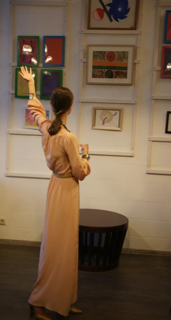 """На выставке  Анны Медалье """"Любовь. Вдохновение. Образ"""""""