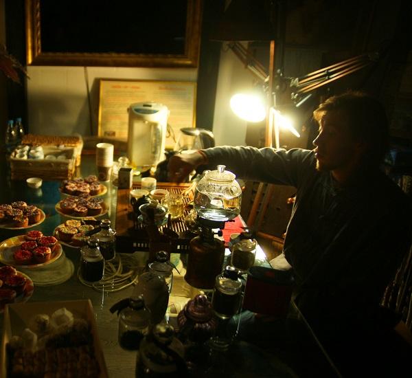 """Чайный Мастер Андрей на Вернисаже """"Простые Волшебные Вещи"""" Выставка Кристины Макеевой"""