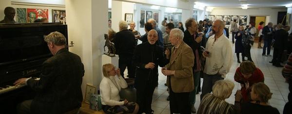 Открытие Выставки «Нет, я не Байрон, я другой…» в ВЗ «Колорит» на Малой Дмитровке 4 октября 2014 г.