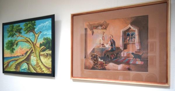 Картины художников Густаво Торреса и Даниэлы Рябичевой