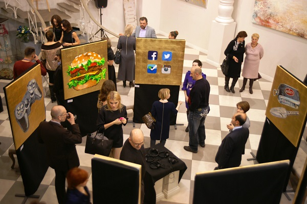 Вернисаж «Curriculum Vitae»  (Ход Жизни) Выставка Дарьи Багринцевой