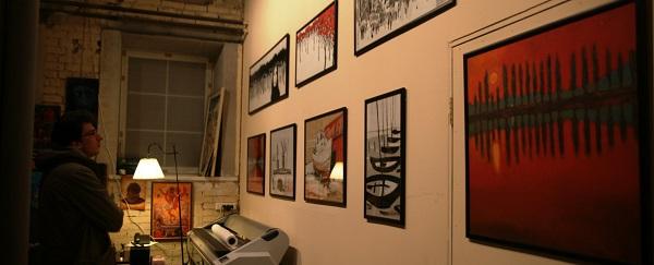 Работы  Константина Малютина  участника выставки  Savva & Малютин в Арт-студии Декор Депо