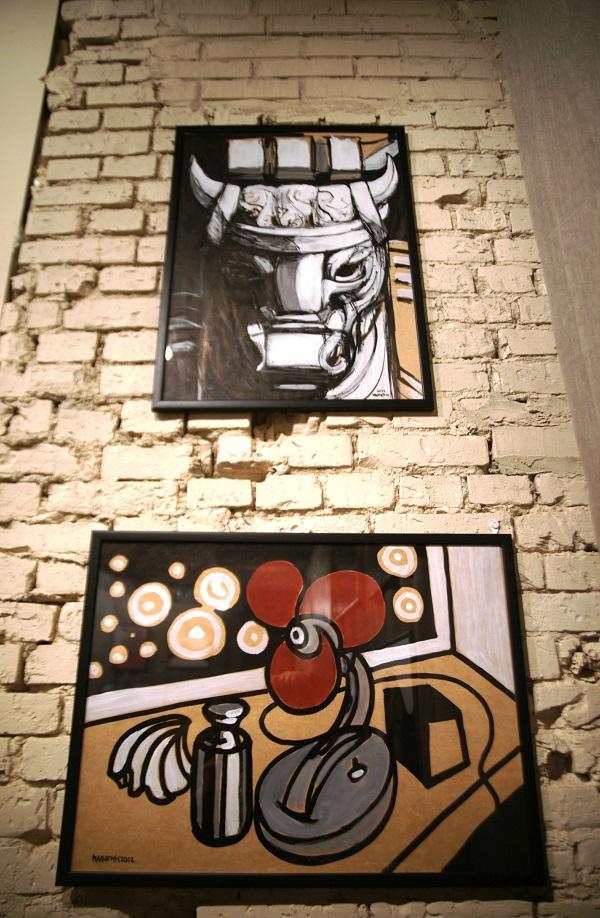 Выставка Savva & Малютин в Арт-студии Декор Депо Работы  Константина Малютина