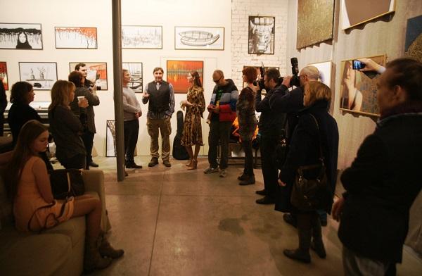 Открытие выставки Savva & Малютин в Арт-студии Декор Депо