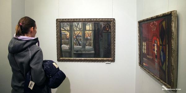 Выставка Сергея Смирнова в галерее  Товарищества живописцев фото: Игорь Дремин