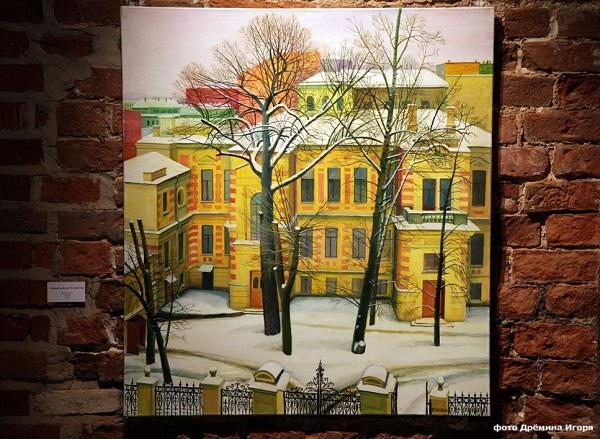 Галерея ЮВС, Картина Татьяны Назаренко. Фото Игорь Дремин