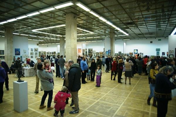 """Открытие Выставки """"Коллекция Мецената"""" в ЦДХ"""