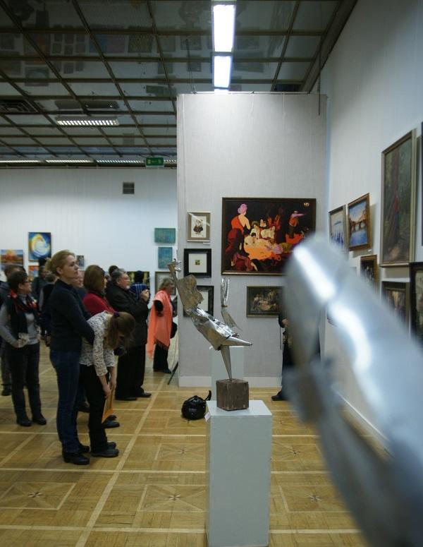 """Открытие Выставки """"Коллекция Мецената"""" в ЦДХ У работ Алексея Лоптева"""