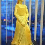 """Валерий Малолетков, """"Анна Ахматова"""",  фаянс, роспись, 2014 г."""