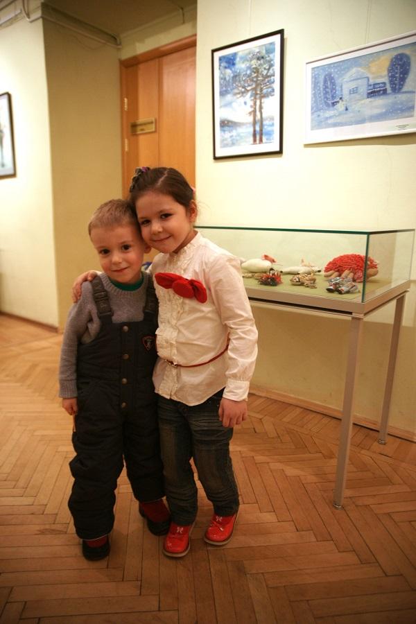 Выставка Антонины Вороновой понравилась всем, особенно детям