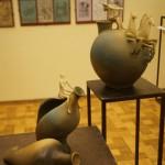 На выставке Валерия Малолеткова в Академии художеств