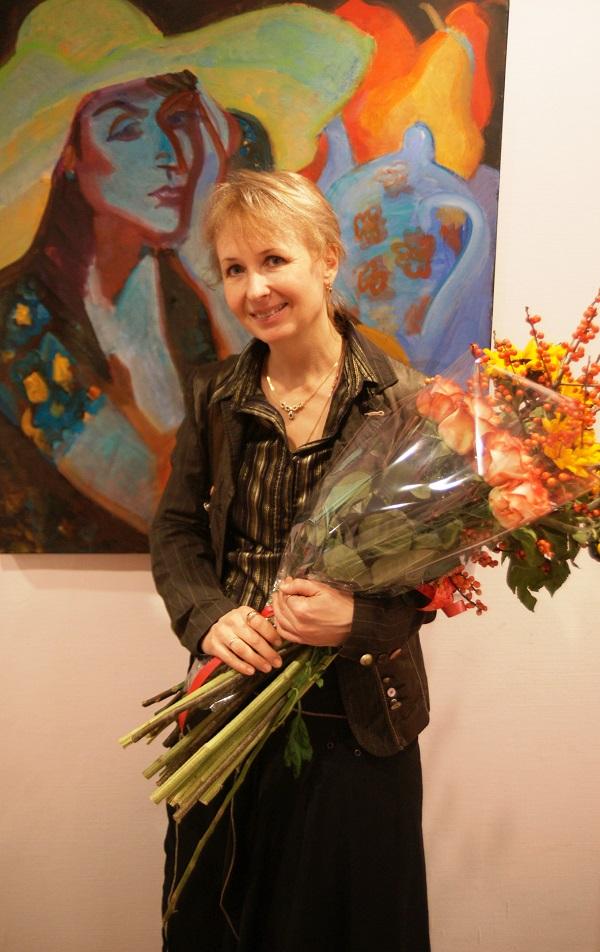 """Ольга Мотовилова-Комова в галерее """"На Чистых Прудах"""""""