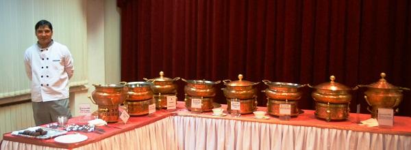 Индийские угощения. Посольство Индии в Москве