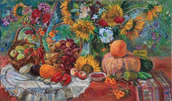 Есть в душе художника счастливая особенность. Майя Гусарина с детства сохранила это волшебное чувство — возможности чуда. Этим ощущением наполнены все ее картины жанровые композиции, пейзажи, натюрморты