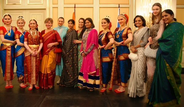С супругой посла Индии Барбарой Рагхаван Ball Hall  Ritz Carlton Hotel, Moscow 26 января 2015 г. День Республики Индия