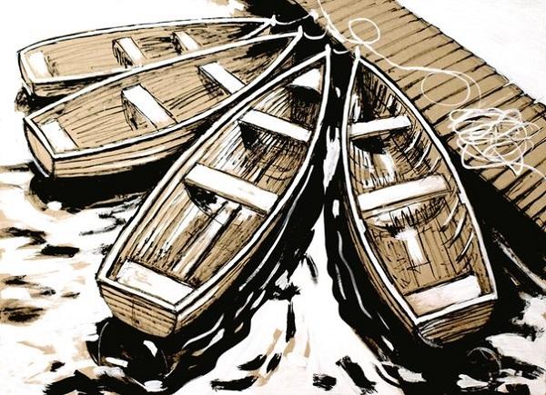 Константин-Малютин-.. лодка