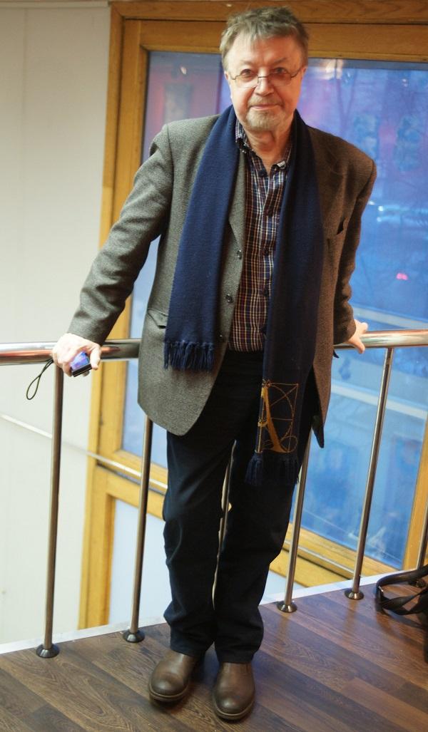 Скульптор Валерий Малолетков Выставка  работ Владимира Буйначева в МОСХ на БЕГОВОЙ, 7 26 февраля 2015 г.