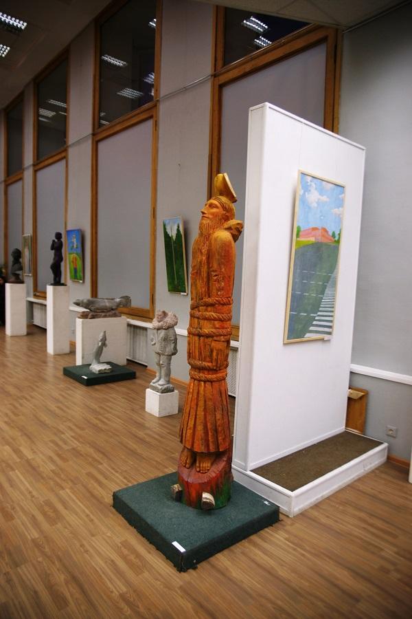 Выставка  работ Владимира Буйначева в МОСХ на БЕГОВОЙ, 7 26 февраля 2015 г.