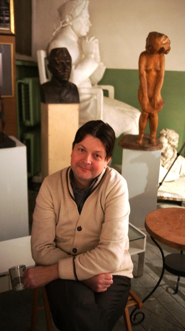 Редактор сайта  cultobzor.ru Кирилл Зимогорский 13 февраля 2015 г.  в Творческой Мастерской Рябичевых