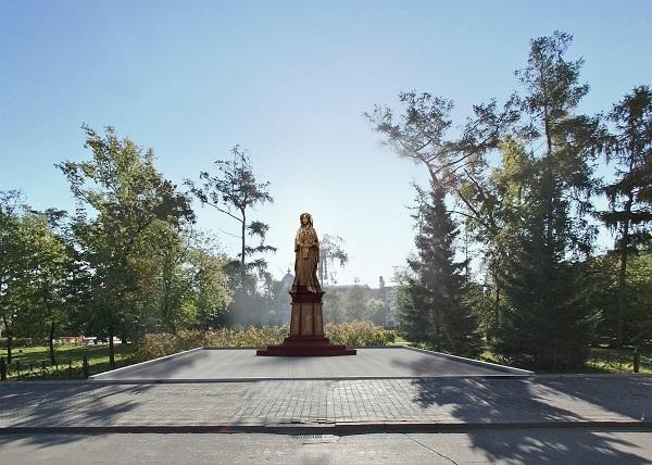 Памятник Матери в Иркутске.