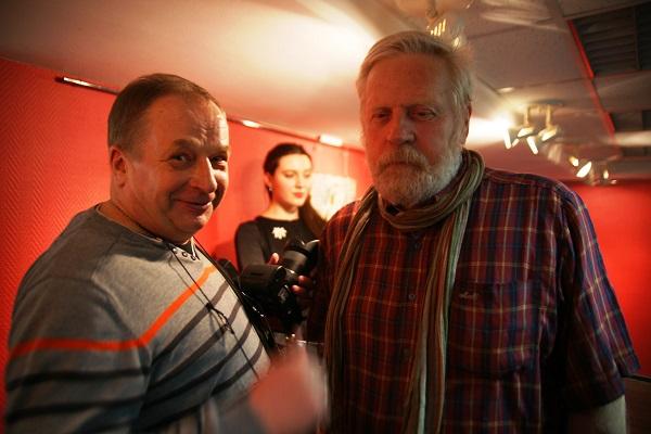 Фотограф Борис Сысоев и скульптор Николай Наумов Выставка  работ Владимира Буйначева в МОСХ на БЕГОВОЙ, 7 26 февраля 2015 г.