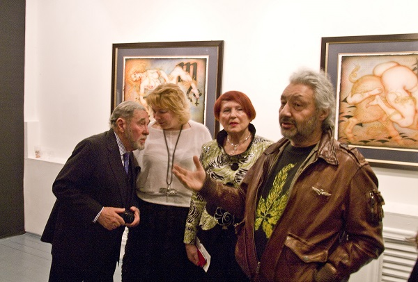 """На выставке  А.Брусиловского  """"Об этом..."""" в галерее """"Файн арт"""""""