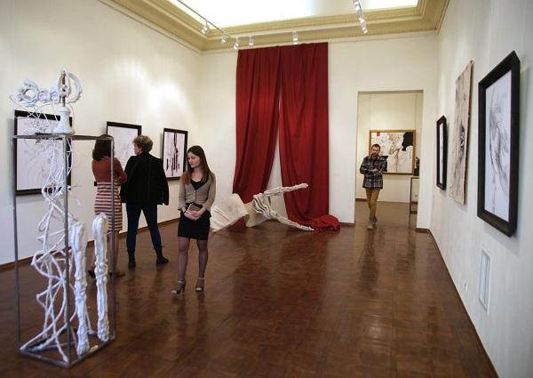 Выставка  Александра Бурганова к 80-летию мастера 17 марта 2015 г.  Российская Академия художеств