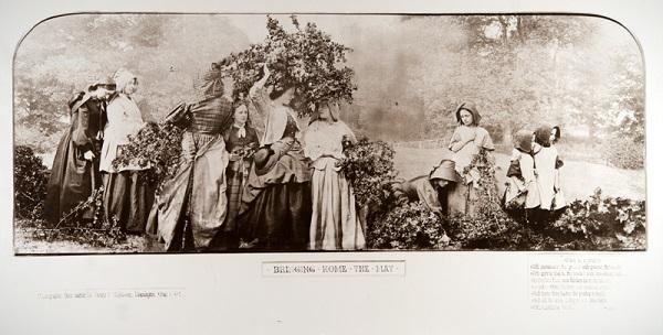 """Г. П. Робинсон.  """"Приход мая""""  1862 г.  ТОМХ  Выставка в РАХ """"Фотография викторианской эпохи"""""""