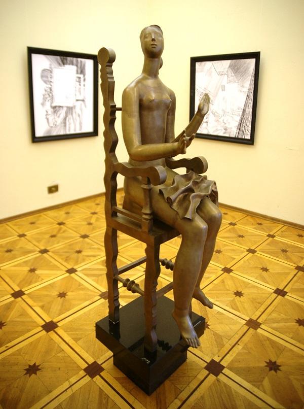 Ввставка Александра Бурганова к 80-летию мастера 17 марта 2015 г.  Российская Академия художеств
