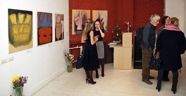 Открытый клуб Выставка Ирины Старженецкой фото Игорь Дрёмин.