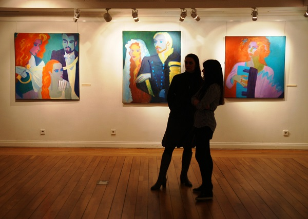 """Выставка Ильи Комова  """"Дуэль"""" в Пушкинском Музее на Пречистенке до 26 апреля 2015 г."""