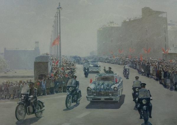 Лун Кай Инь В рамках Годов дружественных молодежных обменов между Россией и Китаем представляют совместный российско-китайский выставочный проект,  посвященный 70-летию Победы в Великой Отечественной Войне  и Войне Сопротивления японским захватчикам в Китае