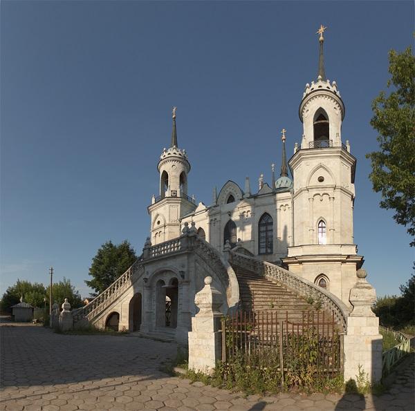 Быково усадьба. Церковь Владимирской Божией Матери