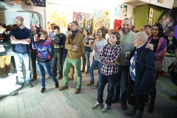 Дмитрий Рябичев Скульптору великому посвящается, Юрьева ночь (фото 27)