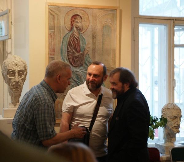 Алипий Балдин Сергей Сагайко Александр Рябичев Концерт в МСХ на Старосадском, д.5 31 мая 2015 года