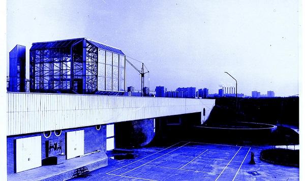 """Виктор Орловский Одно из первых авторских зданий в стиле """"хайтек"""" 1973 г.  Диплом на Всесоюзном смотре"""