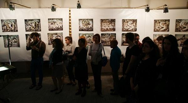 """Выставка  Шеомира Гучепшоко  """"О главном"""" в Творческой Мастерской Рябичевых"""