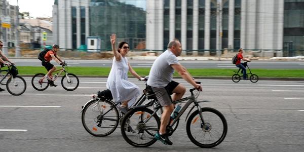 Пятый Московский велопарад, Велосипедисты (фото 12)